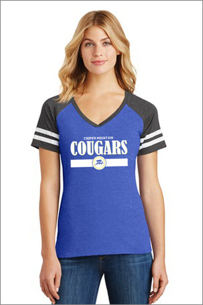 Cooper Mountain Game Day V-Neck (Womens)