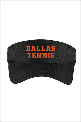 Dallas Tennis PosiCharge RacerMesh Visor