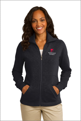 Mortgage Express Slub Fleece Full-Zip Jacket (Womens)