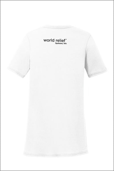 "World Relief ""We Welcome Refugees"" Tee (Adult Womens)"