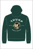 Thump Wolf Zip Up