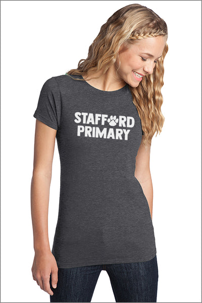 Stafford Short Sleeve Fitted Concert Tee (Womens)