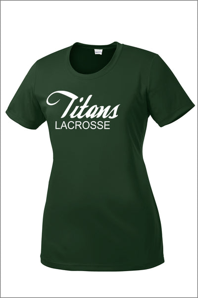 Titans Girls Lacrosse PosiCharge Competitor Tee (Womens)