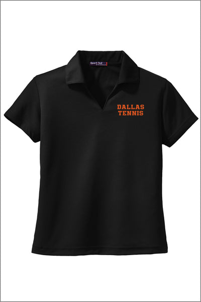 Dallas Tennis Dri-Mesh® V-Neck Polo (Womens)