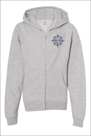 North Star Elementary Full-Zip Hooded Sweatshirt (Youth)