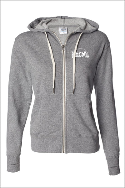 Ponderosa French Terry Full-Zip Hooded Sweatshirt (Adult Unisex)