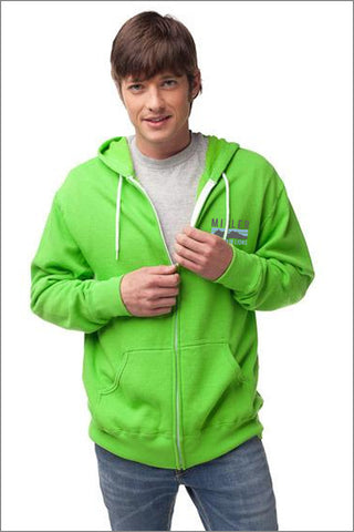 Miller Zip Hooded Sweatshirt (Unisex)