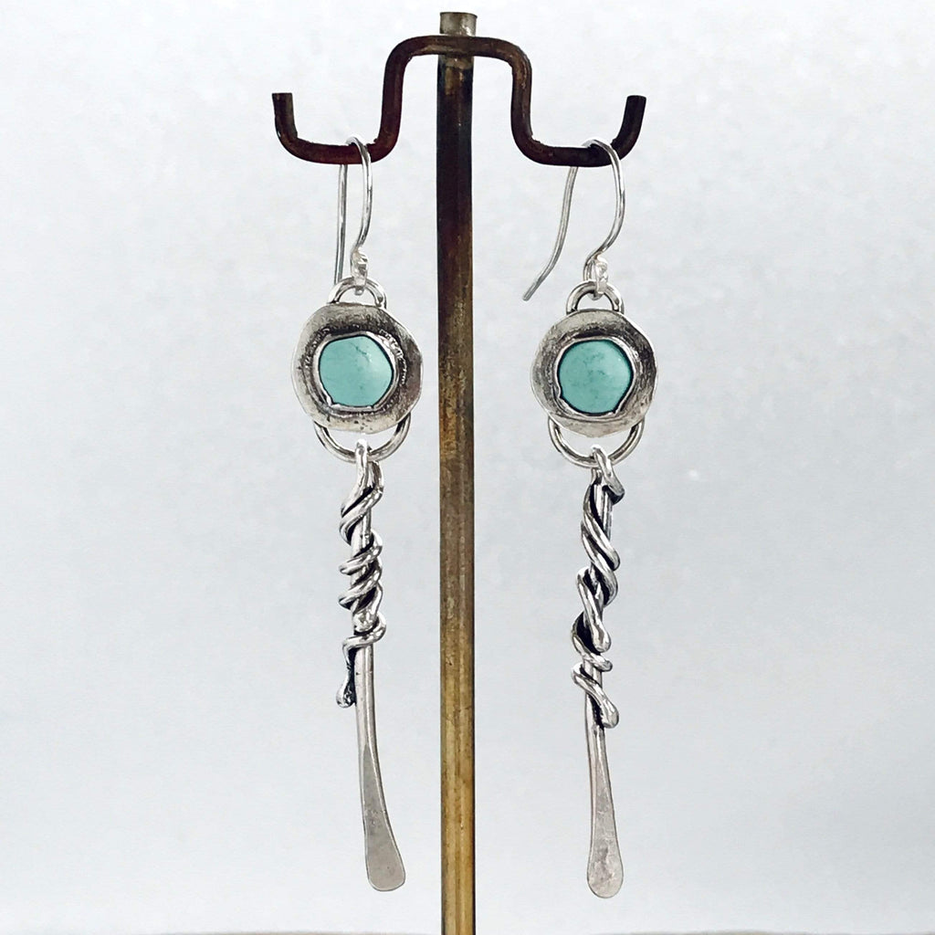 Lefler DesignStudio Afghan Turquoise Earrings earrings