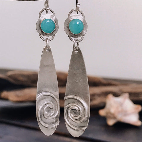 Lefler DesignStudio Hurricane Drops earrings