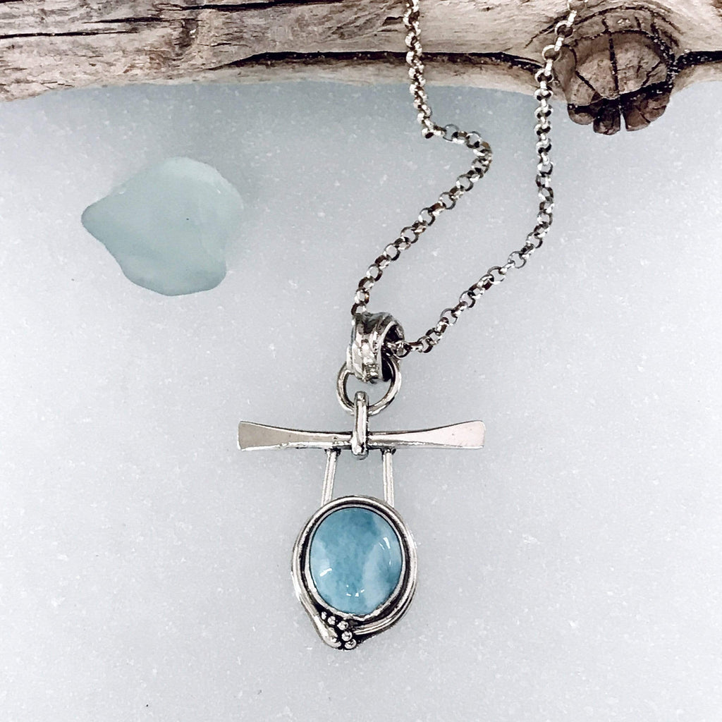 Lefler DesignStudio Larimar Necklace necklace