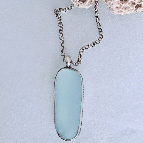 Lefler DesignStudio Sky Blue Necklace necklace