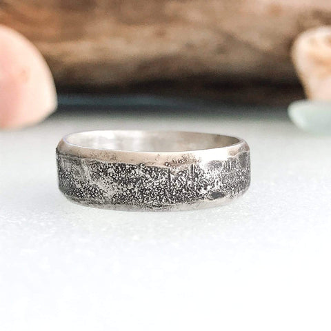 Lefler DesignStudio Simple Shark Skin Ring ring