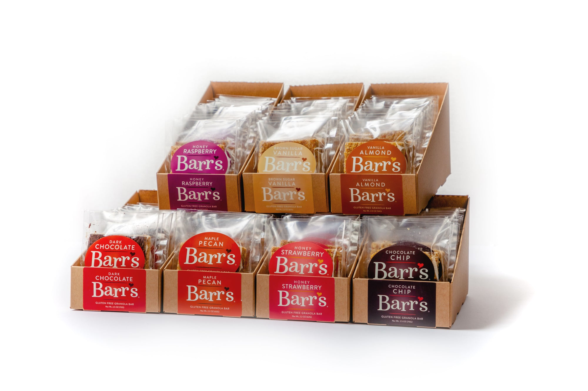 Granola Bar Variety Pack - You Pick! (6 or 12 Pack)