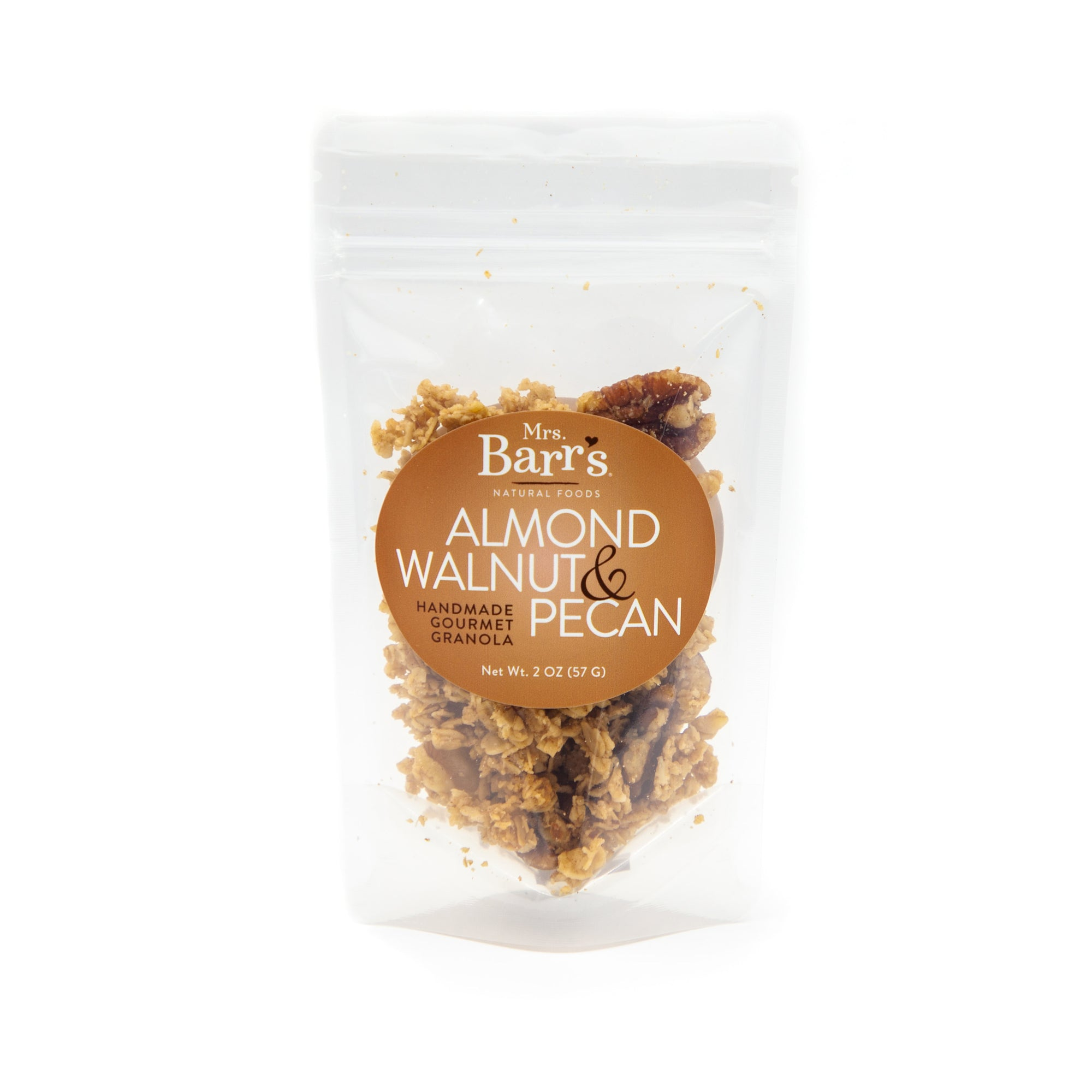 Mini Almond Walnut & Pecan Granola (2oz)