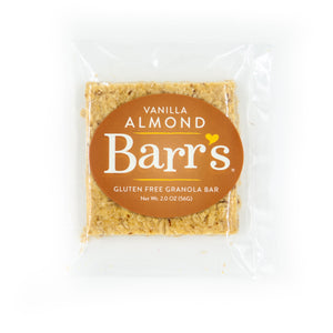 Vanilla Almond Granola Bar (6 or 12 Pack)