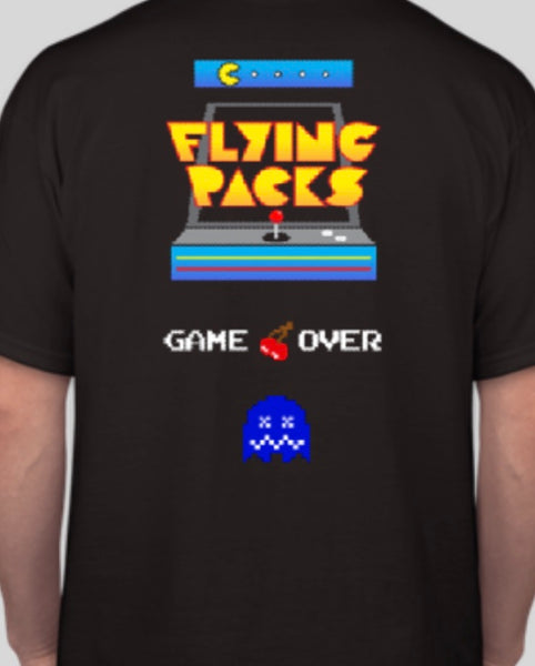 "FLYING PACKS ""PACKMAN"" TSHIRT"