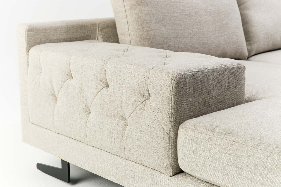 CARLO L-Sectional Sofa (PRE-ORDER - 10 to 12 weeks lead time)