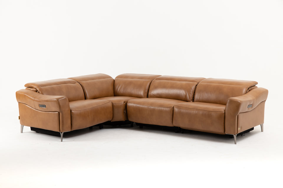 TRENTINO Power Recliner Corner Sofa