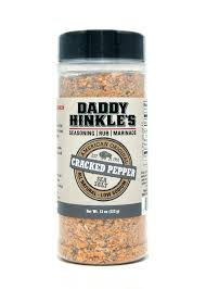 Daddy Hinkle's Cracked Pepper Seasoning Rub