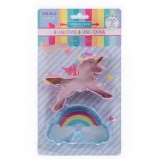 Rainbows & Unicorns Cookie Cutters