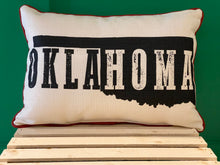Load image into Gallery viewer, Okla-Homa Pillow