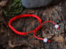 Load image into Gallery viewer, Banish Evil Red String Kabbalah Bracelet TheNorseWind