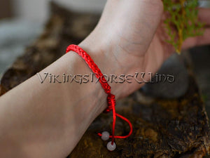 Banish Evil Red String Kabbalah Bracelet TheNorseWind