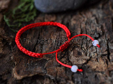 Load image into Gallery viewer, Banish Evil Bracelet Red String Kabbalah Bracelet TheNorseWind