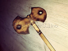 Load image into Gallery viewer, Viking Double Bit Axe Medieval Battle Axe, LARP Weapon TheNorseWind
