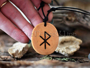 Love Amulet Viking Runes Amulet Attract Love Bind Rune Necklace Love Talisman Handmade Elder Futhark Asatru Norse Mythology Wicca Pagan TheNorseWind