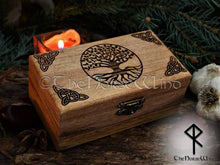 Load image into Gallery viewer, Yggdrasil - Tree of Life Box TheNorseWind