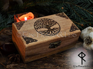 Yggdrasil - Tree of Life Box TheNorseWind