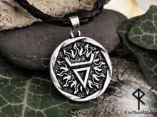 Load image into Gallery viewer, Loki Pendant, Veles Slavic Viking Necklace - TheNorseWind