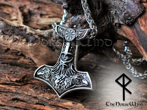 Thor's Hammer Necklace by TheNorseWind