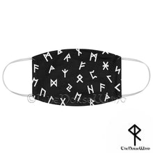 Load image into Gallery viewer, Viking Runes Face Mask - Reusable and Washable 2 Layers Fabric Face Cover