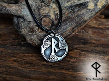 Load image into Gallery viewer, Viking Rune Necklace - TheNorseWind