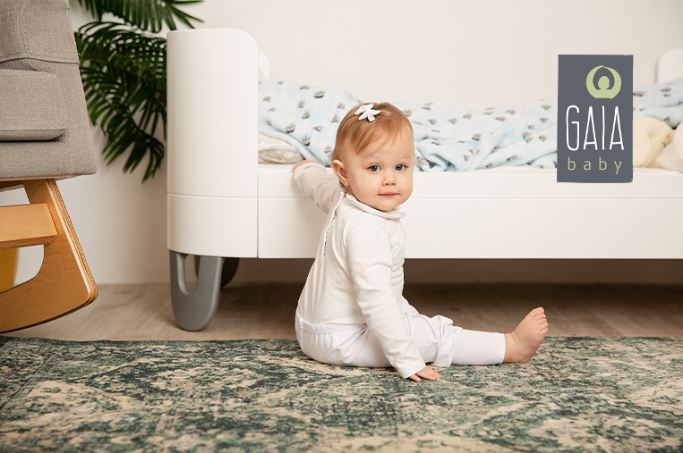 Gaia Baby Convertible Cot Bed