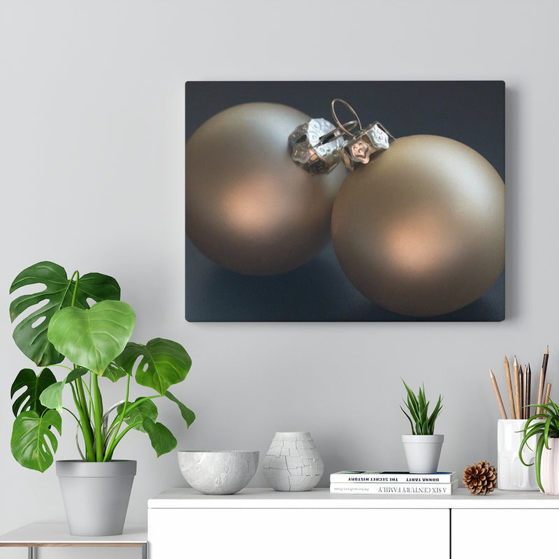 Golden Ornaments Canvas Print - Shopoya