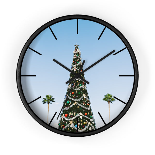 L.A. Xmas Wall clock - Shopoya