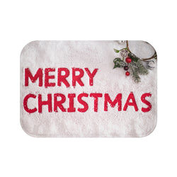 Merry Christmas Bath Mat - Shopoya