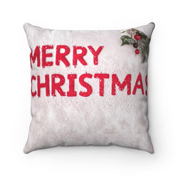Merry Christmas Throw Pillow - Shopoya