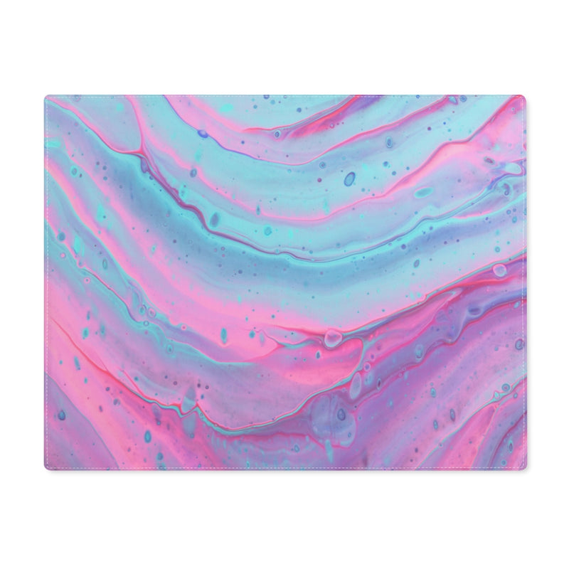 Pink and Blue Swirls Placemat - Shopoya