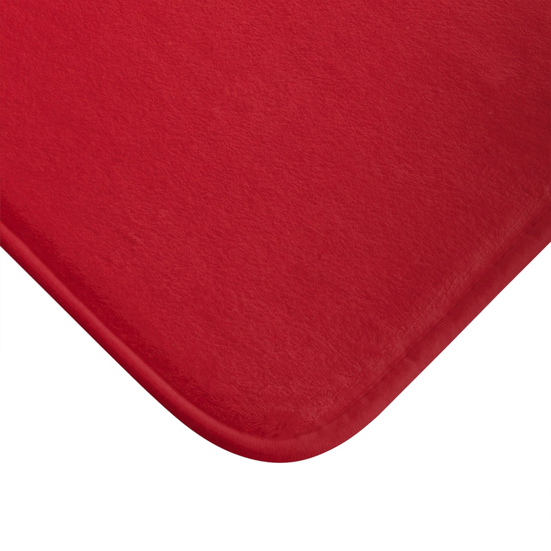Red Xmas Bath Mat - Shopoya
