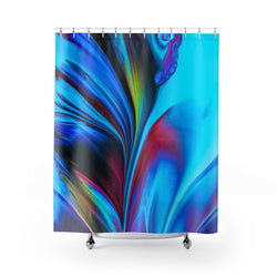 Abstract Swirl Shower Curtains - Shopoya