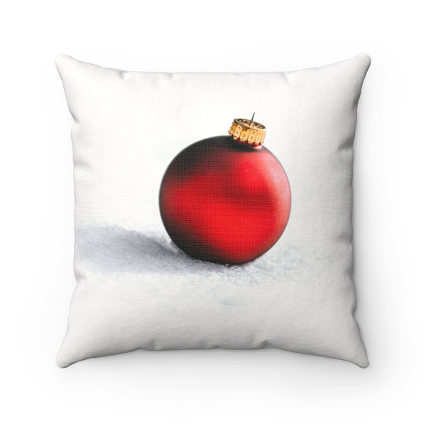 Red Ornament Pillow Case - Shopoya