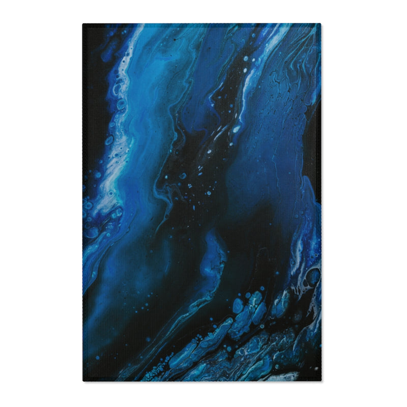 Abstract Wave Area Rug - Shopoya