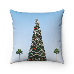 L.A. Xmas Throw Pillow - Shopoya