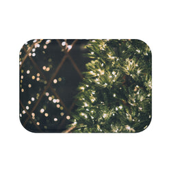 Xmas Lights Bath Mat - Shopoya