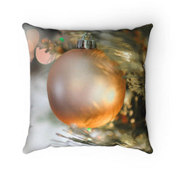 Golden Ornament Pillow Case - Shopoya