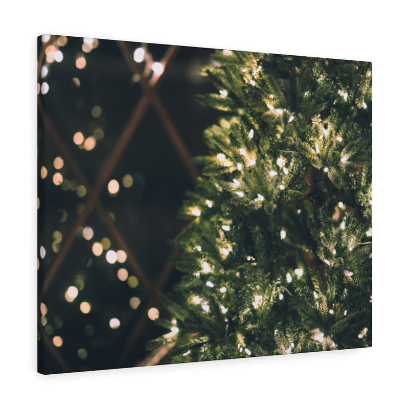 Xmas Lights Canvas Print - Shopoya